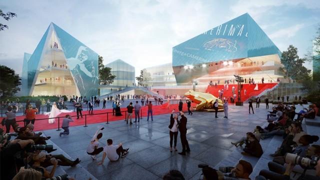 Pierwsze miejsce w konkursie na opracowanie koncepcji architektonicznej budynku Europejskiego Centrum Filmowego Camerimage w Toruniu zajęło austriackie biuro architektoniczne Baumschlager Eberle Lustenau