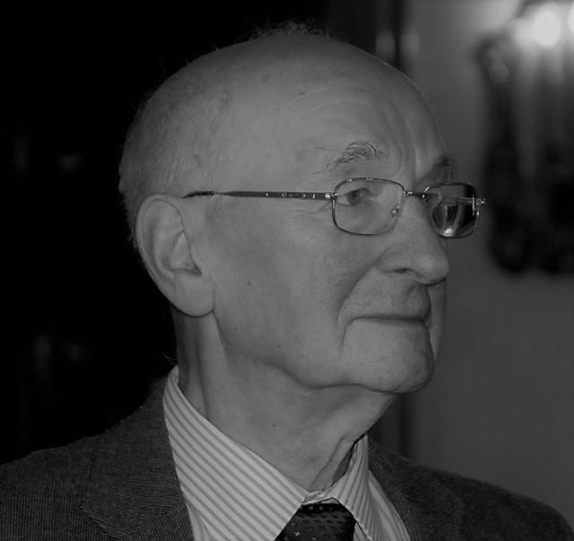 Mieczysław Pieronek, brat bp. Tadeusza Pieronka. Zdjęcie z roku 2014