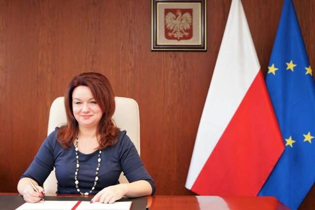Wicewojewoda Aneta Niestrawska