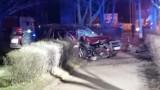 GORZÓW WLKP. Pijana kobieta ledwo stała na nogach. Wsiadła do samochodu i uderzyła w drzewo. Wcześniej uszkodziła kilka samochodów