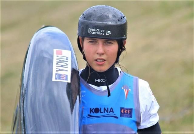 Aleksandra Stach już jutro będzie startować na olimpiadzie w Tokio w kajakarstwie górskim slalomowym