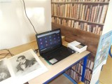 Spotkania z dramatem Juliusza Słowackiego w bibliotece szkolnej w Wicku