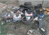 Ulica Sulisławicka w Kaliszu. Miasto ma zająć się sprawą dziur i podrzucania śmieci ZDJĘCIA
