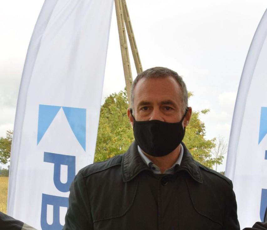 Xavier Canals, członek zarządu firmy Ibereolica, Biały Bór