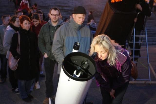 Astronomiczny Maraton w Szczecinie. Zobacz gwiazdy przez największy teleskop amatorski w Polsce