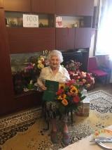 Pani Salomea z Jaworzna obchodziła 100. urodziny. Wszystkiego dobrego!