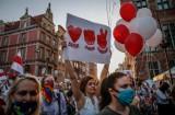 Solidarni z Białorusią! Wiec w Gdańsku przeciw represjom reżimu Aleksandra Łukaszenki wobec opozycji 14.08.2020 r. Zobaczcie zdjęcia