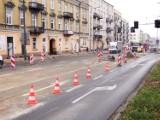 Przebudowa ulicy 25 Czerwca w Radomiu. Koparki pracują w kilku miejscach. Sprawdzamy postęp prac [ZDJĘCIA[