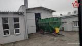 Paliło się w podajniku w firmie Adriana S.A. w Kosowiźnie