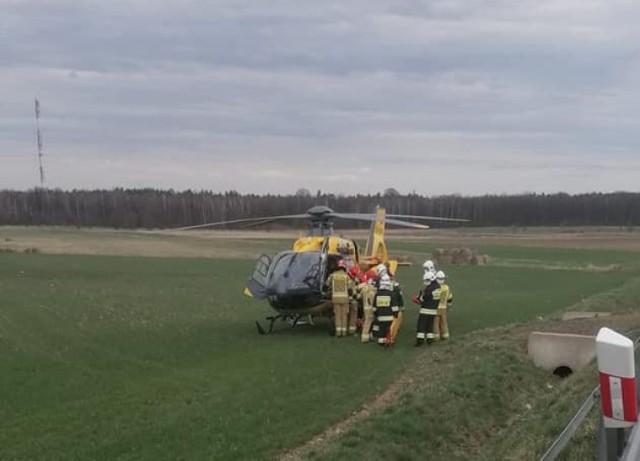 Wypadek motocyklisty w powiecie lublinieckim. Wracał z Jasnej Góry?