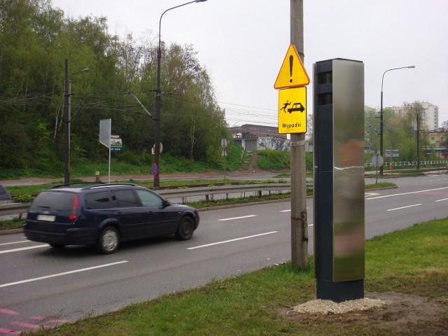 Jeden z radarów stoi przy Wrocławskiej