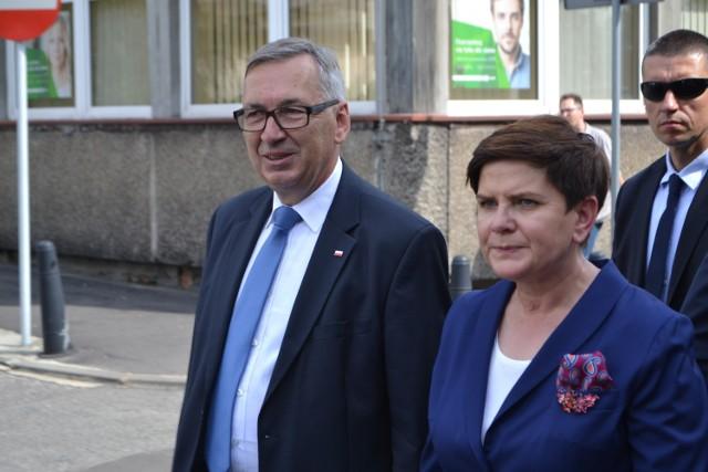 Premier Beata Szydło przyjedzie do Rybnika