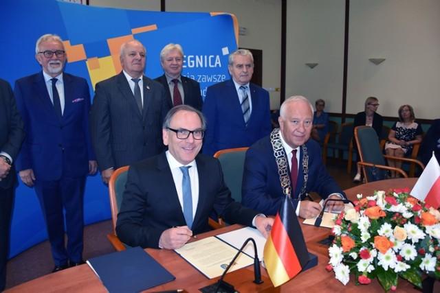 Miasta Partnerskie Legnica i Wuppertal nadal razem.