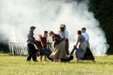 Strzały i wybuchy na łąkach hubalowych w Jaśle [ZDJĘCIA]
