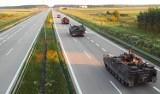 Wojsko na drogach woj. śląskiego. Wojskowych pojazdów transportowych nie należy fotografować - ostrzega GDDKiA