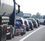 Karambol na autostradzie A4. Na odcinku 100 metrów zderzyło się sześć samochodów!