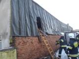Słupca: Pożar poddasza budynku jednorodzinnego [ZDJĘCIA]