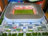 Zaprezentowano wierną makietę stadionu Górnika. Model pojechał do Monachium na targi Real Expo