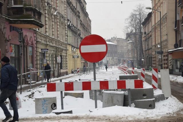 W Chorzowie trwa przebudowa ulicy Powstańców. Kierowcy muszą uważać na utrudnienia