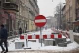 Co się dzieje na ulicy Powstańców w Chorzowie? Gdzie zniknęli drogowcy? Prace tymczasowo zostały wstrzymane