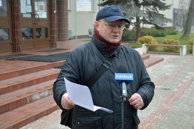 Andrzej Szlęzak, radny sejmiku podkarpackiego, apeluje o nie dyskryminowanie osób, które się nie zaszczepią