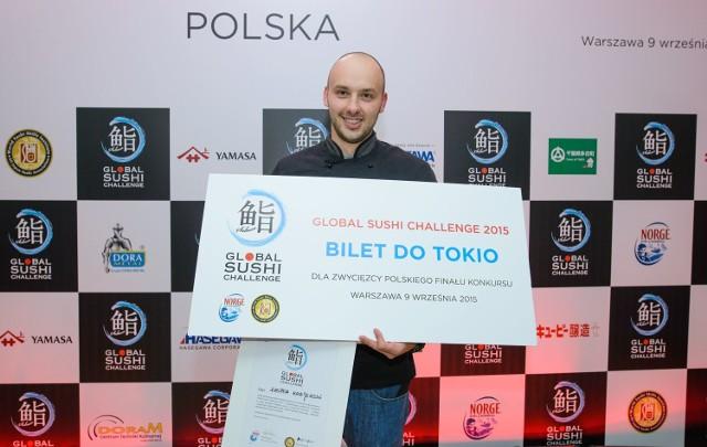 Kasper Krajewski reprezentował ATO Sushi z Łodzi. 25 listopada powalczy o tytuł najlepszego na świecie mistrza w przyrządzaniu sushi. Wielki Finał odbędzie się w Tokio