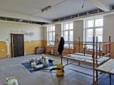 Gmina Damasławek. Trwa remont świetlicy wiejskiej w Gruntowicach. Świetlica w Wiśniewku jest właśnie budowana