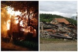 Szczawa. Pożar zabrał im dom i cały dobytek. Mieszkańcy natychmiast ruszyli z pomocą, ale potrzeb jest wiele [ZDJĘCIA]
