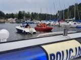 Policja wodna z Bydgoszczy kontrolowała moc silników motorówek na Zalewie Koronowskim. Posypały się mandaty [zdjęcia]