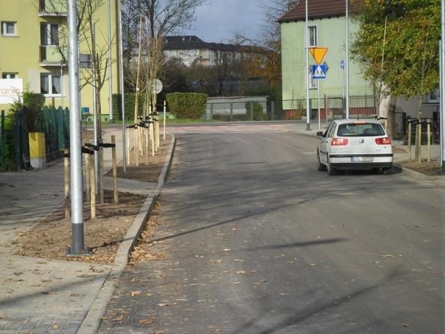 W ubiegłym roku wyremontowano ulicę Polną. To był etap I przebudowy