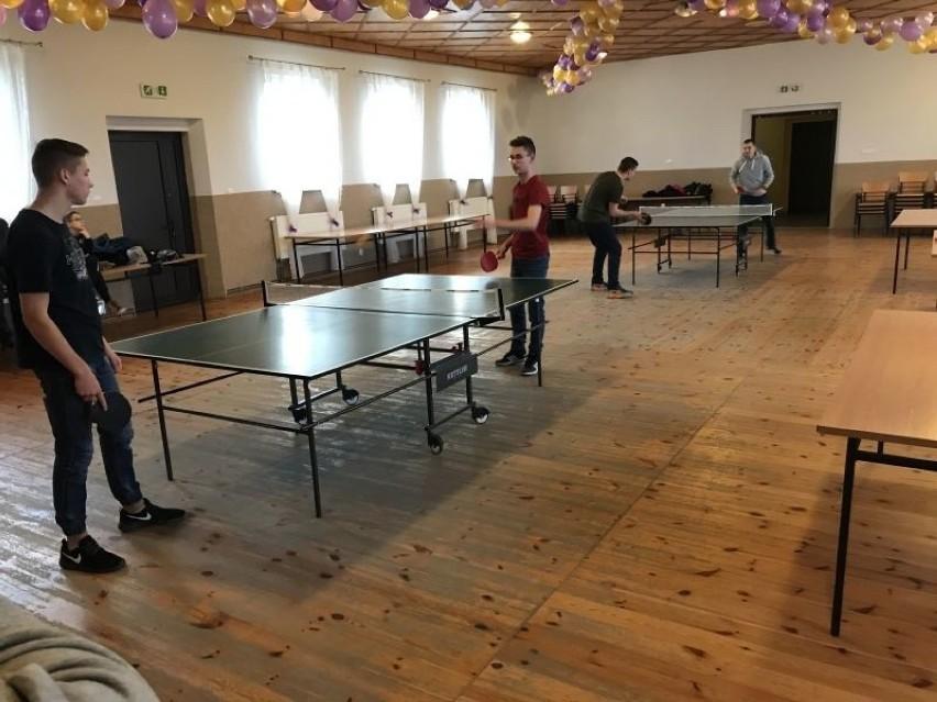 Za nami turniej tenisa stołowego o mistrzostwo sołectwa...