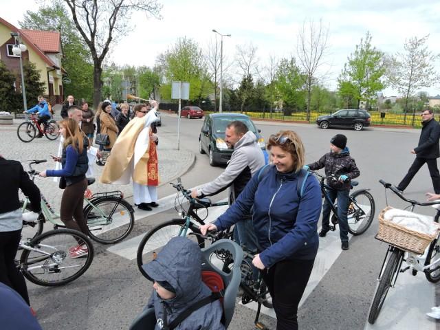 Otwarcie sezonu rowerowego w bielskiej bazylice
