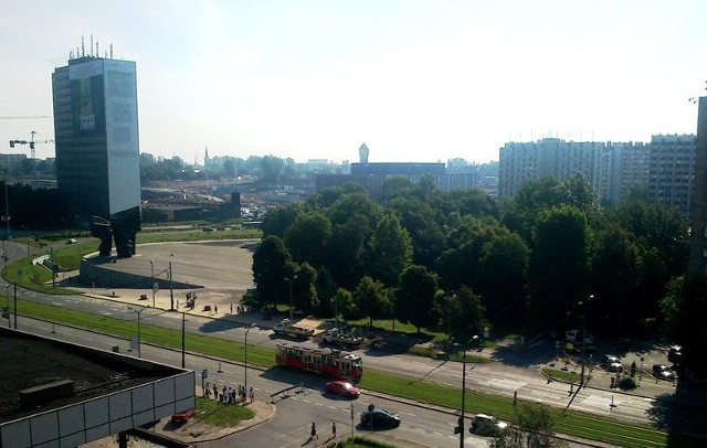 Aleja Korfantego Katowice