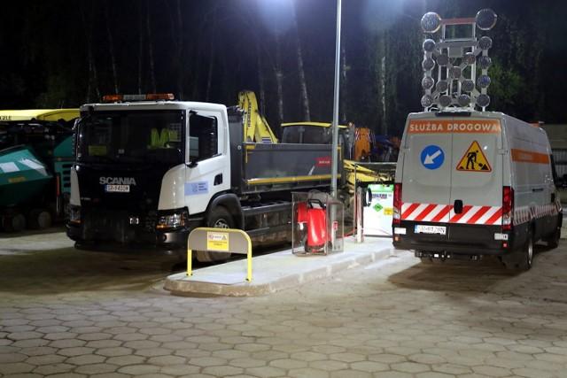 Rybnickie Służby Komunalne zbudowały własną stację z gazem ziemnym do tankowania. Jest dużo taniej