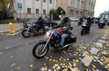 Szczecin. Motocyklowe wsparcie strajku kobiet. Zobacz ZDJĘCIA i WIDEO
