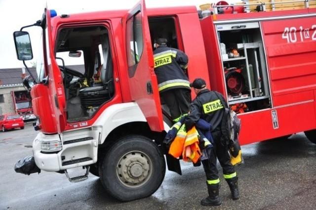 Uszkodzony gazociąg w Brodnicy. Trwa ewakuacja mieszkańców