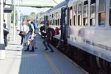 Pociąg PKP TLK Pogoria dotarł do Bielska-Białej
