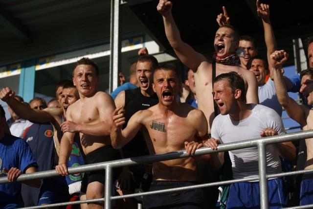 Tak cieszyliśmy się osiem lat temu po awansie Miedzi Legnica do I Ligi, jak będzie jutro?