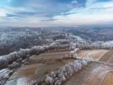 Zimowe krajobrazy w podkrakowskich wioskach. Pięknie! [ZDJĘCIA]