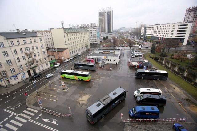 Dworzec PKS w Katowicach