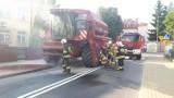 W Łasinie zapalił się kombajn. Szybka akcja strażaków
