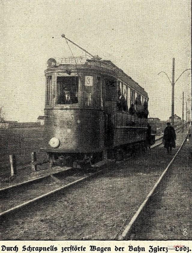 Tak wyglądały pierwsze tramwaje jadące do Zgierza