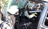Wypadek w Bytomiu: 20-latek wjechał w drzewo. Pasażerowie w ciężkim stanie [ZDJĘCIA]