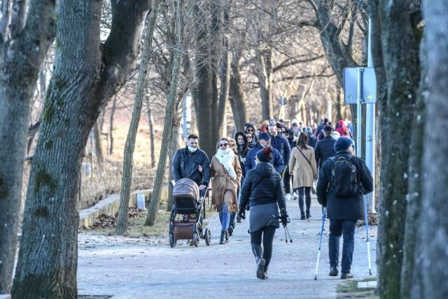 Spacer w Sopocie - luty 2021