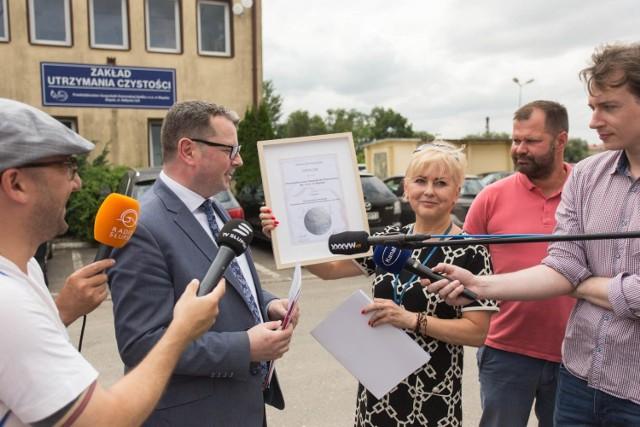 Słupskie PGK na piątym miejscu w Polsce. Spółka wyróżniona w corocznym rankingu.