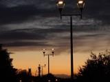 Malowniczy zachód słońca i wieczorny spacer po Ustce [ZDJĘCIA]