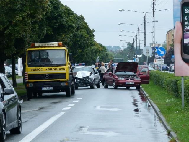 Wypadek na ul Kilińskiego w Zduńskiej Woli. Zawinił pijany kierowca