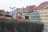 Prace nawierzchniowe na ul. Mickiewicza w Zdunach potrwają do końca marca [ZDJĘCIA]