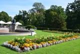 W parku w Świerklańcu wciąż panuje lato