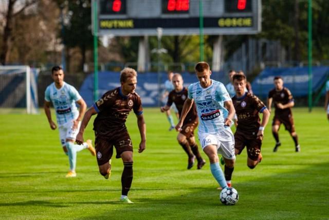 15.09.2021, Kraków: mecz II ligi Hutnik - Garbarnia
